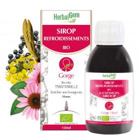 SIROP REFROIDISSEMENTS - 150 ml | Herbalgem